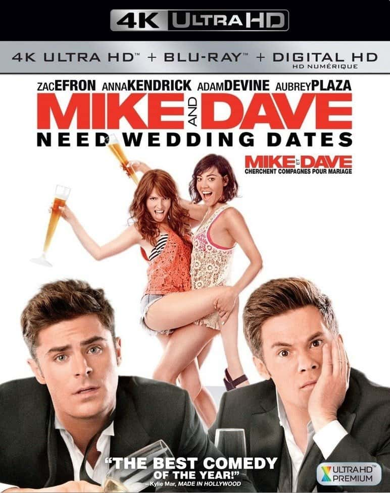 Mike and Dave Need Wedding Dates 4K 2016 Ultra HD 2160p