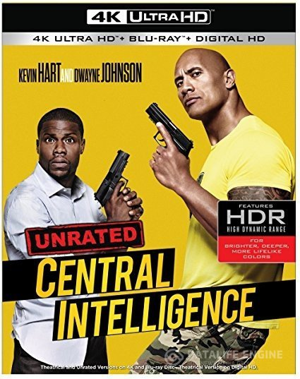 Central Intelligence 4K 2016 Ultra HD 2160p
