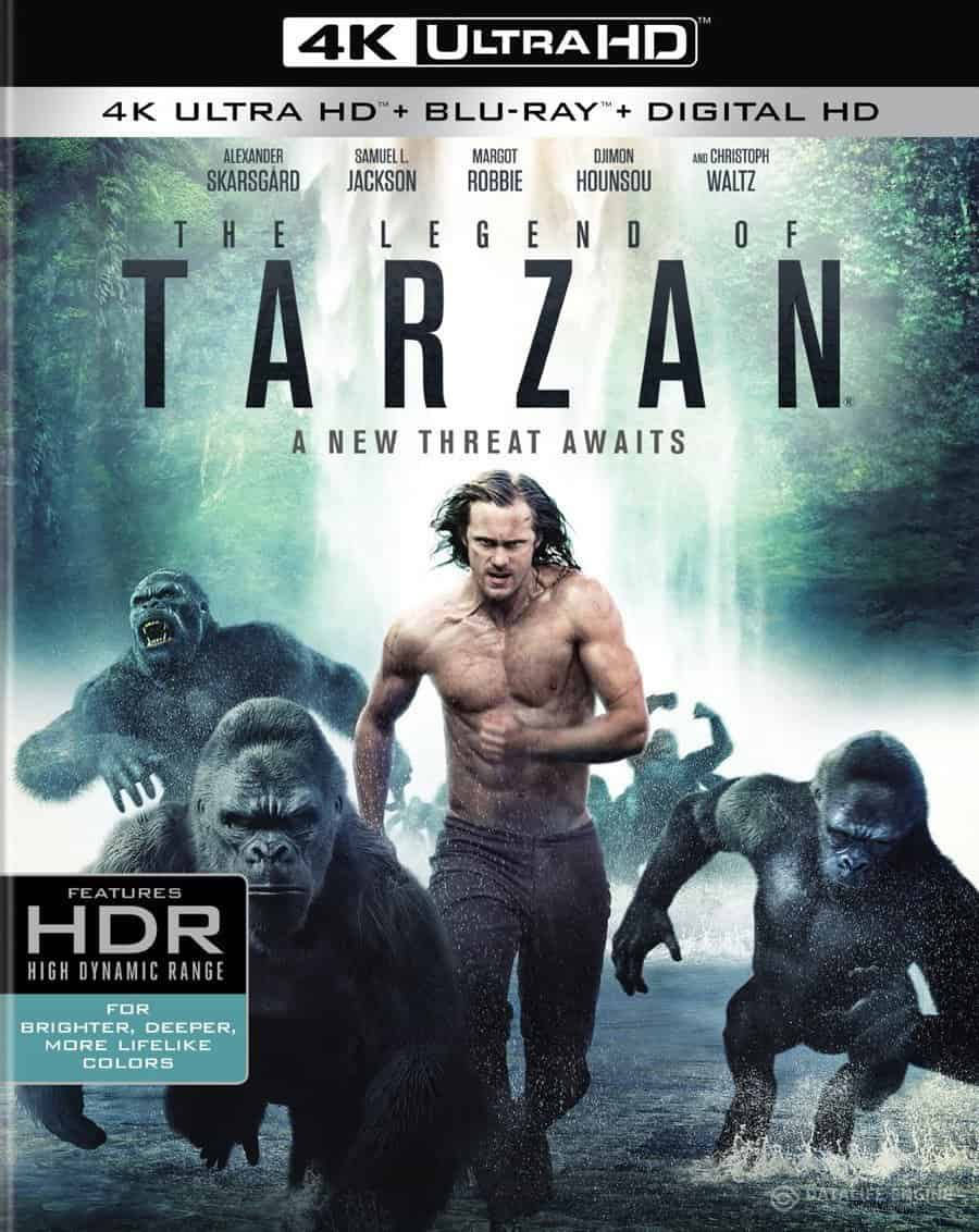 The Legend of Tarzan 4K 2016 Ultra HD 2160p