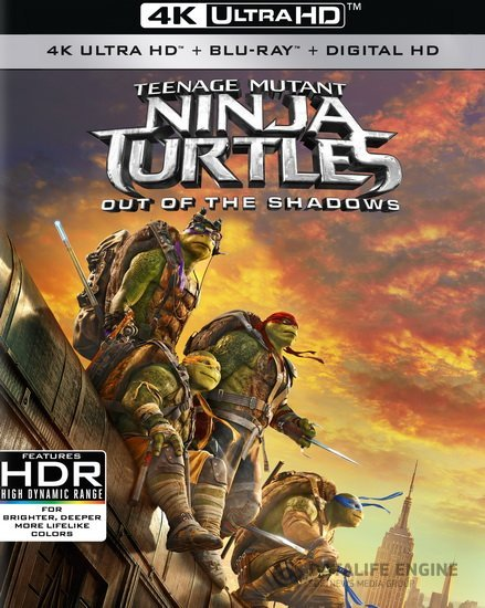 Teenage Mutant Ninja Turtles: Out of the Shadows 4K 2016 Ultra HD 2160p