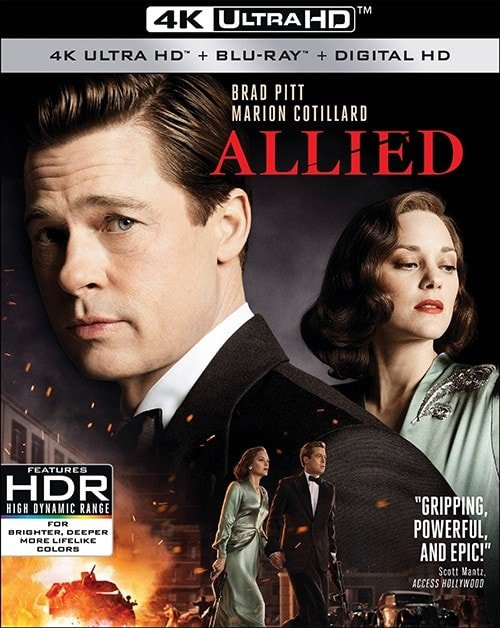 Allied 4K 2016 Ultra HD 2160p