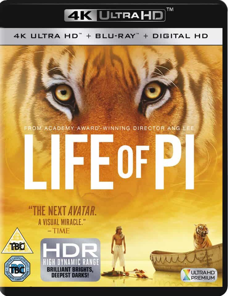 Life of Pi 4K 2012 Ultra HD 2160p