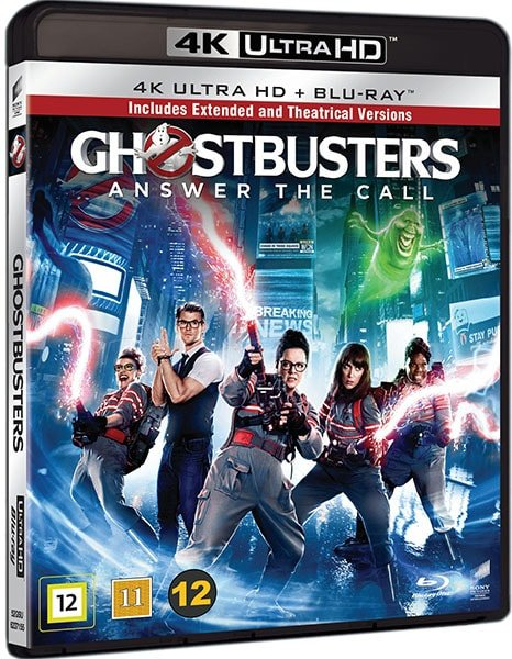 Ghostbusters Extended 4K 2016 Ultra HD 2160p