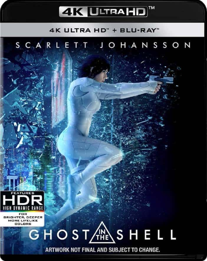 Ghost in the Shel 4K 2017 Ultra HD 2160p