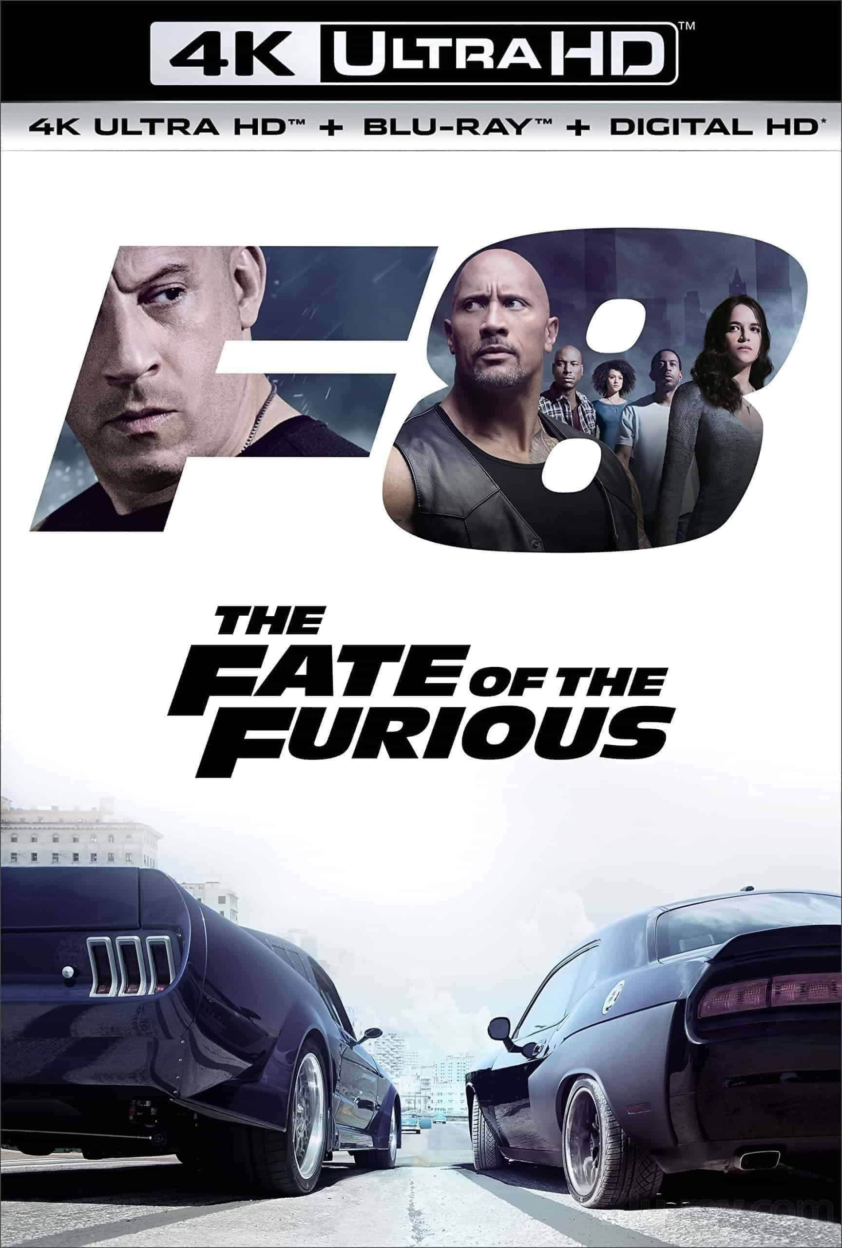 The Fate of the Furious 4K 2017 Ultra HD 2160p
