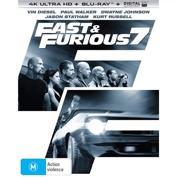 Furious Seven 4K 2015 Ultra HD 2160p
