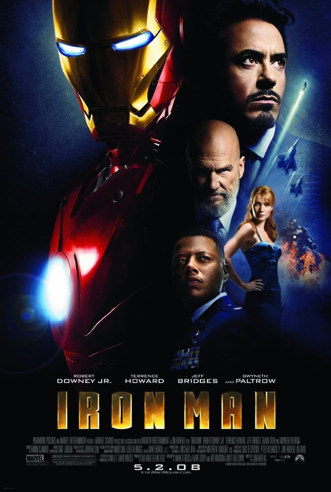 Iron Man 4K 2008 Ultra HD 2160p