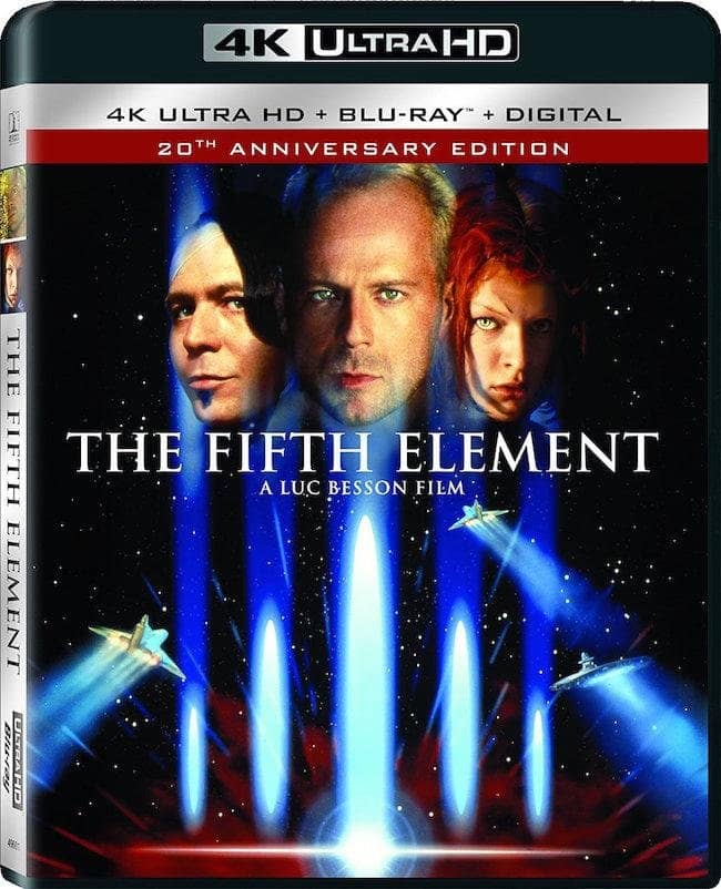 The Fifth Element 4K 1997 Ultra HD 2160p