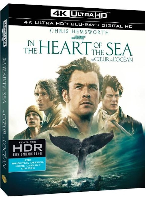 In the Heart of the Sea 4K 2015 Ultra HD 2160p