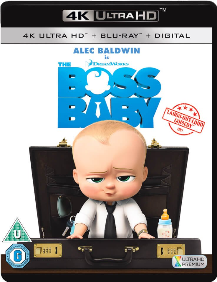 The Boss Baby 4K 2017 Ultra HD 2160p