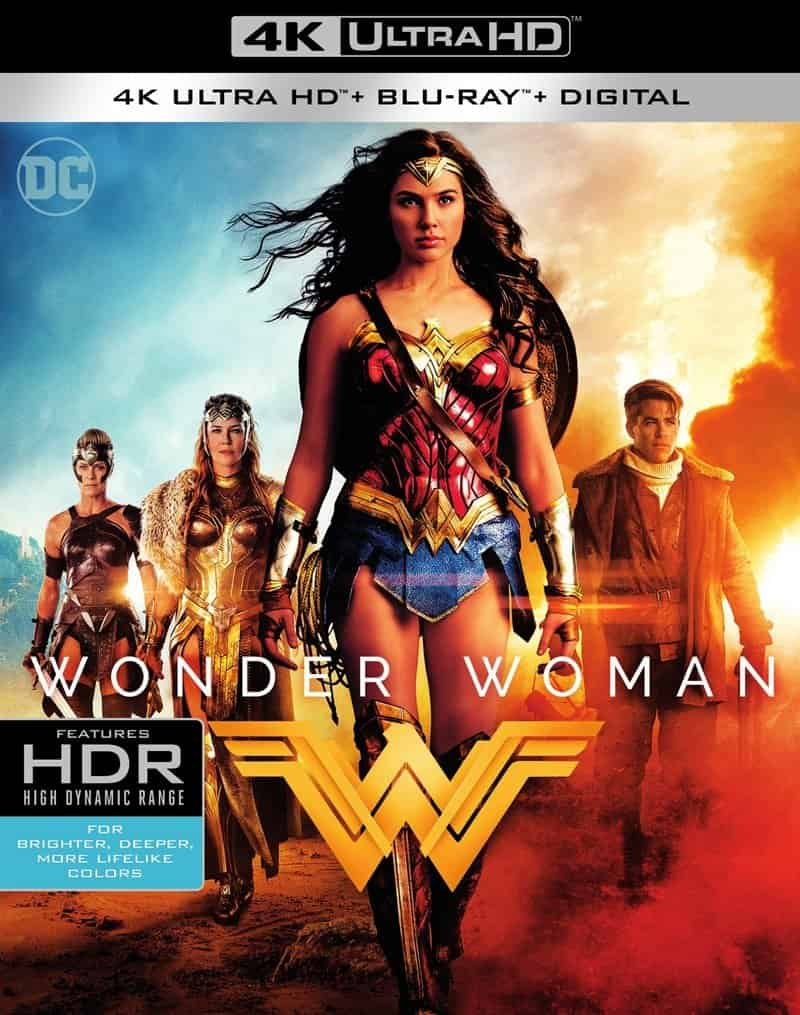 Wonder Woman 4K 2017 Ultra HD 2160p