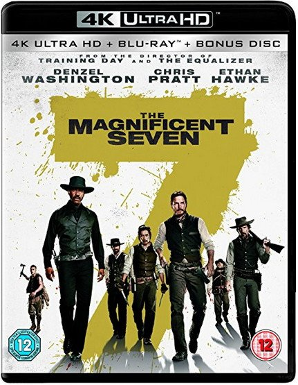The Magnificent Seven 4K 2016 Ultra HD 2160p