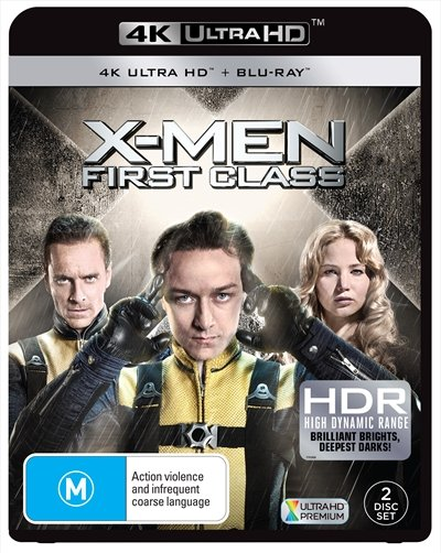 X-Men First Class 4K 2011 Ultra HD 2160p