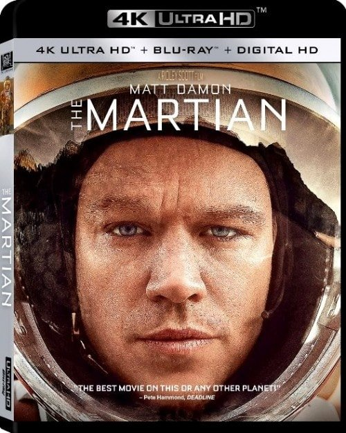 The Martian 4K 2015 Ultra HD 2160p