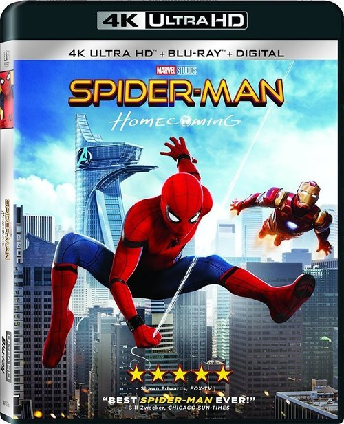 Spider-Man Homecoming 4K 2017 Ultra HD 2160p
