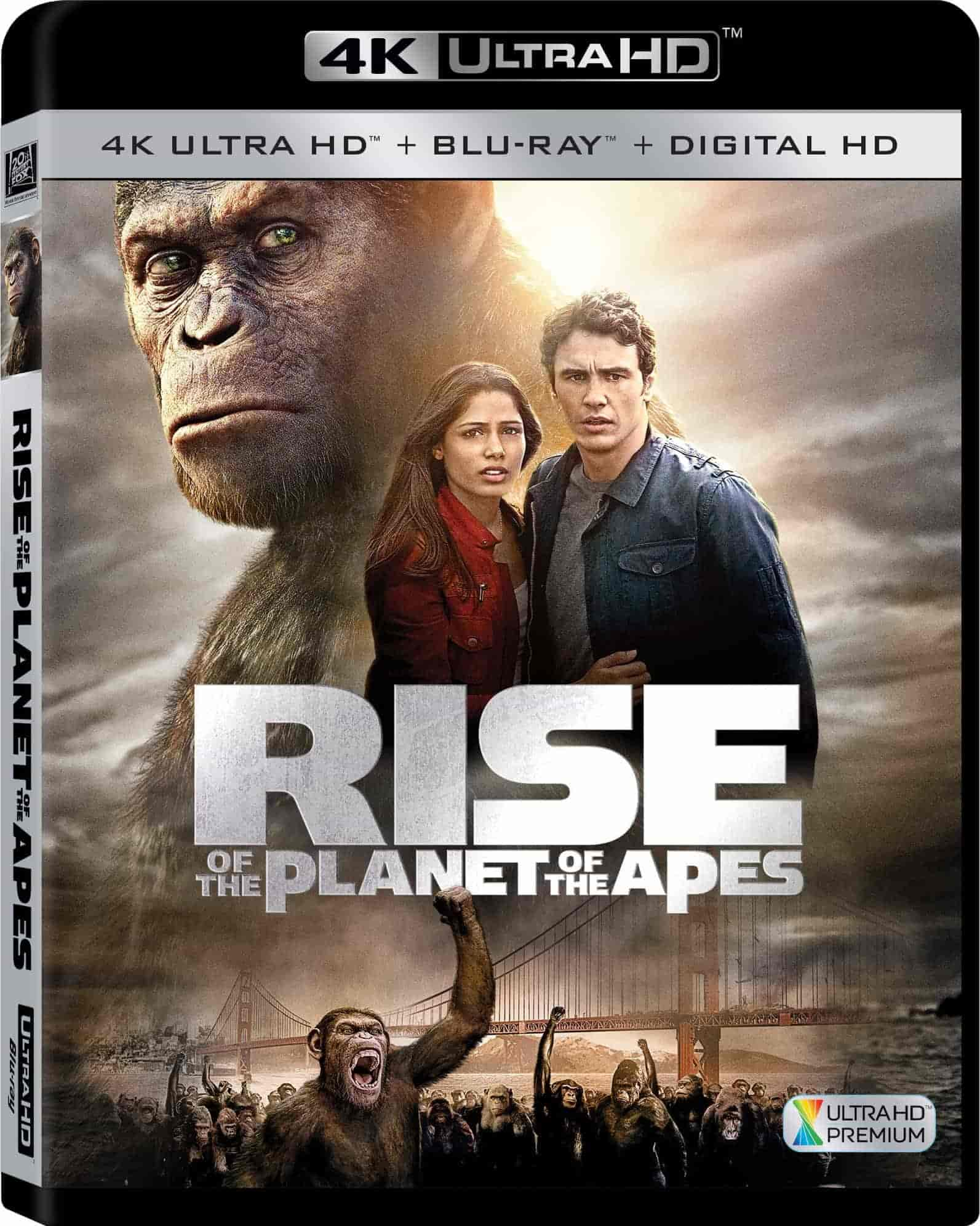 Rise of the Planet of the Apes 4K 2011 Ultra HD 2160p