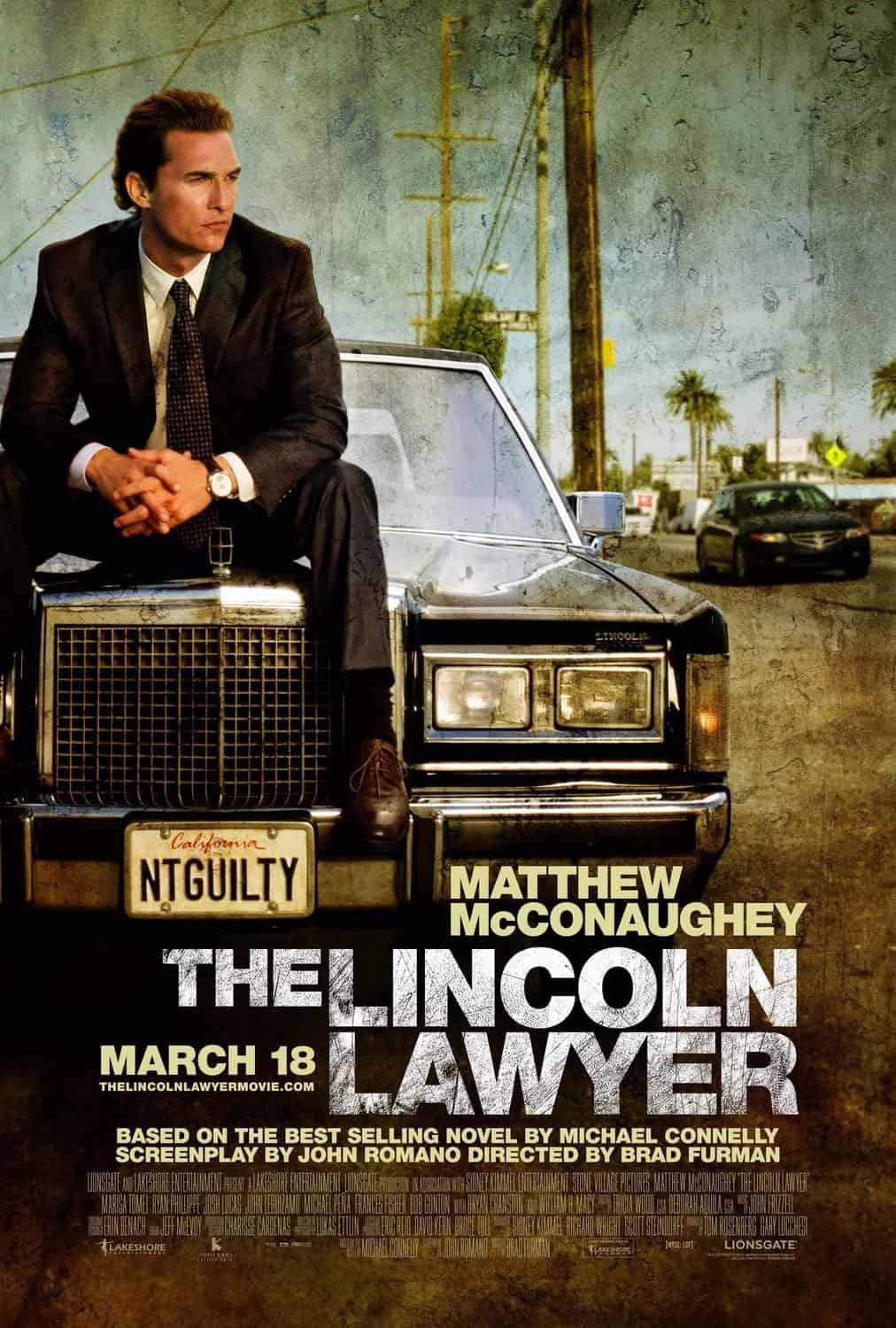 The Lincoln Lawyer 4K 2011 Ultra HD 2160p