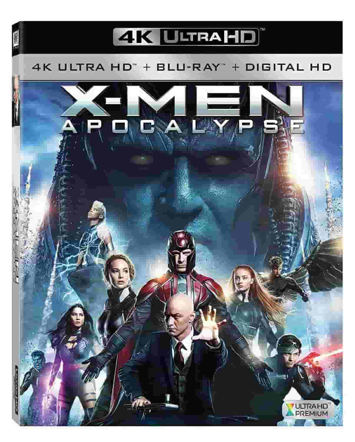 X-Men Apocalypse 4K 2016 Ultra HD 2160p
