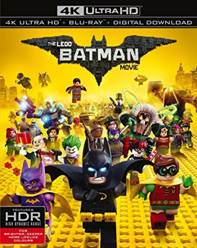 The LEGO Batman Movie 4K 2017 Ultra HD 2160p