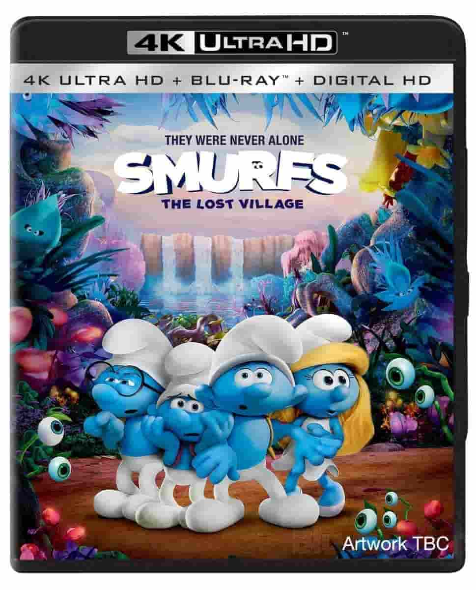 Smurfs The Lost Village 4K 2017 Ultra HD 2160p