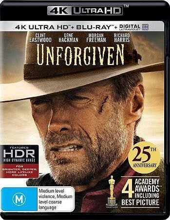 Unforgiven 4K 1992 Ultra HD 2160p