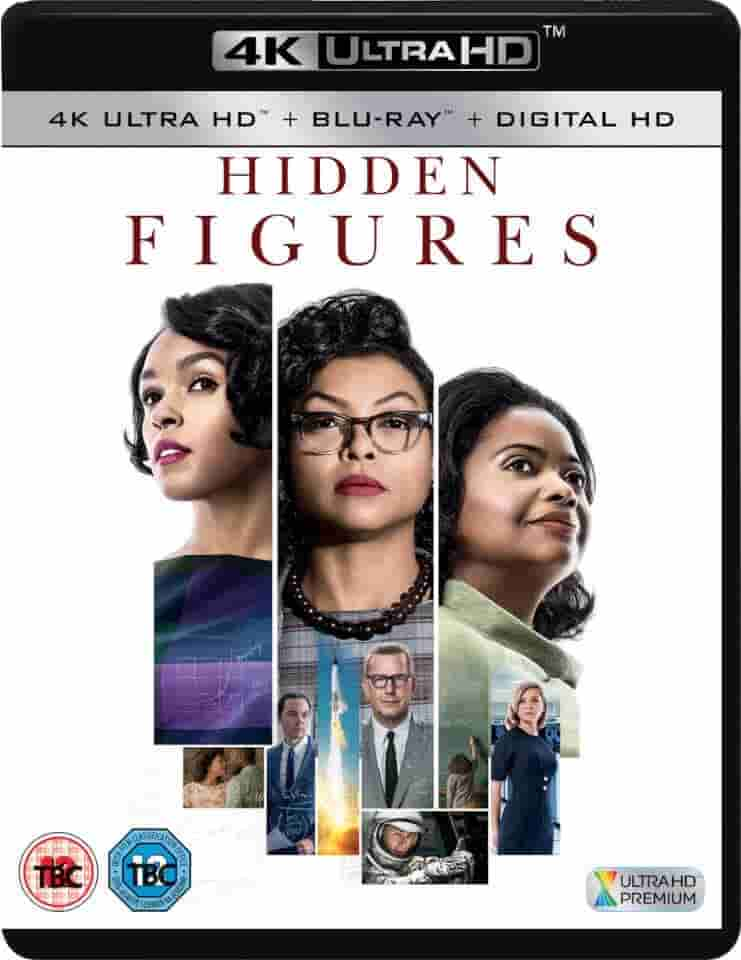 Hidden Figures 4K 2016 Ultra HD 2160p