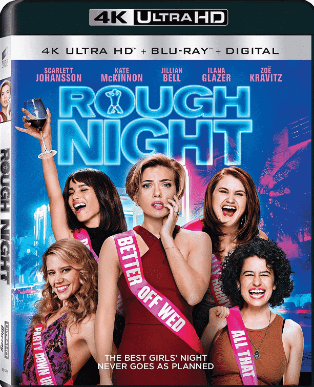 Rough Night 4K 2017 Ultra HD 2160p
