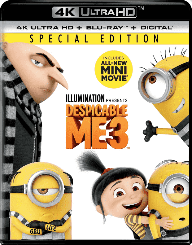 Despicable Me 3 4K 2017 Ultra HD 2160p
