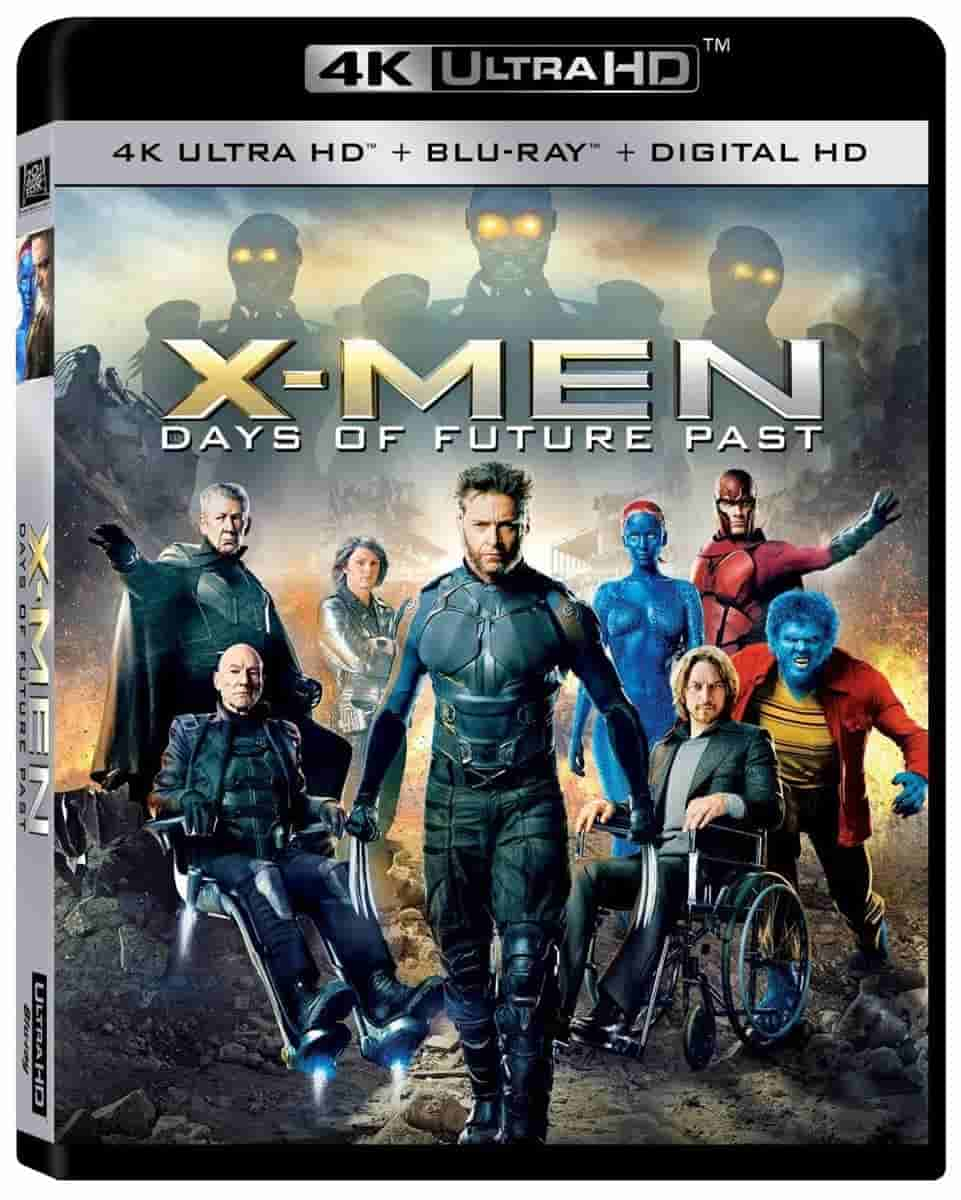 X-Men: Days of Future Past 4K 2014 Ultra HD 2160p