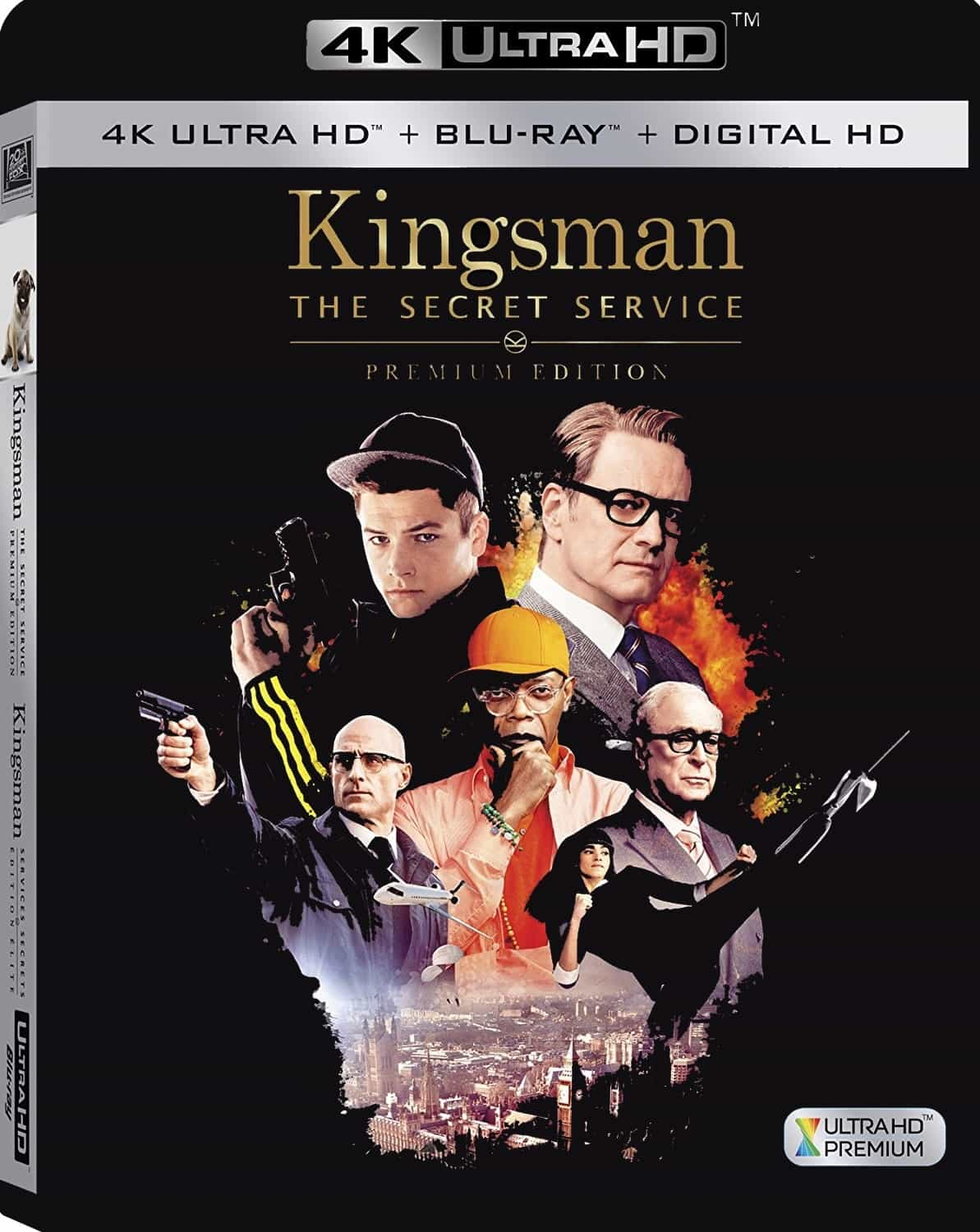 Kingsman: The Secret Service 4K 2014 Ultra HD 2160p