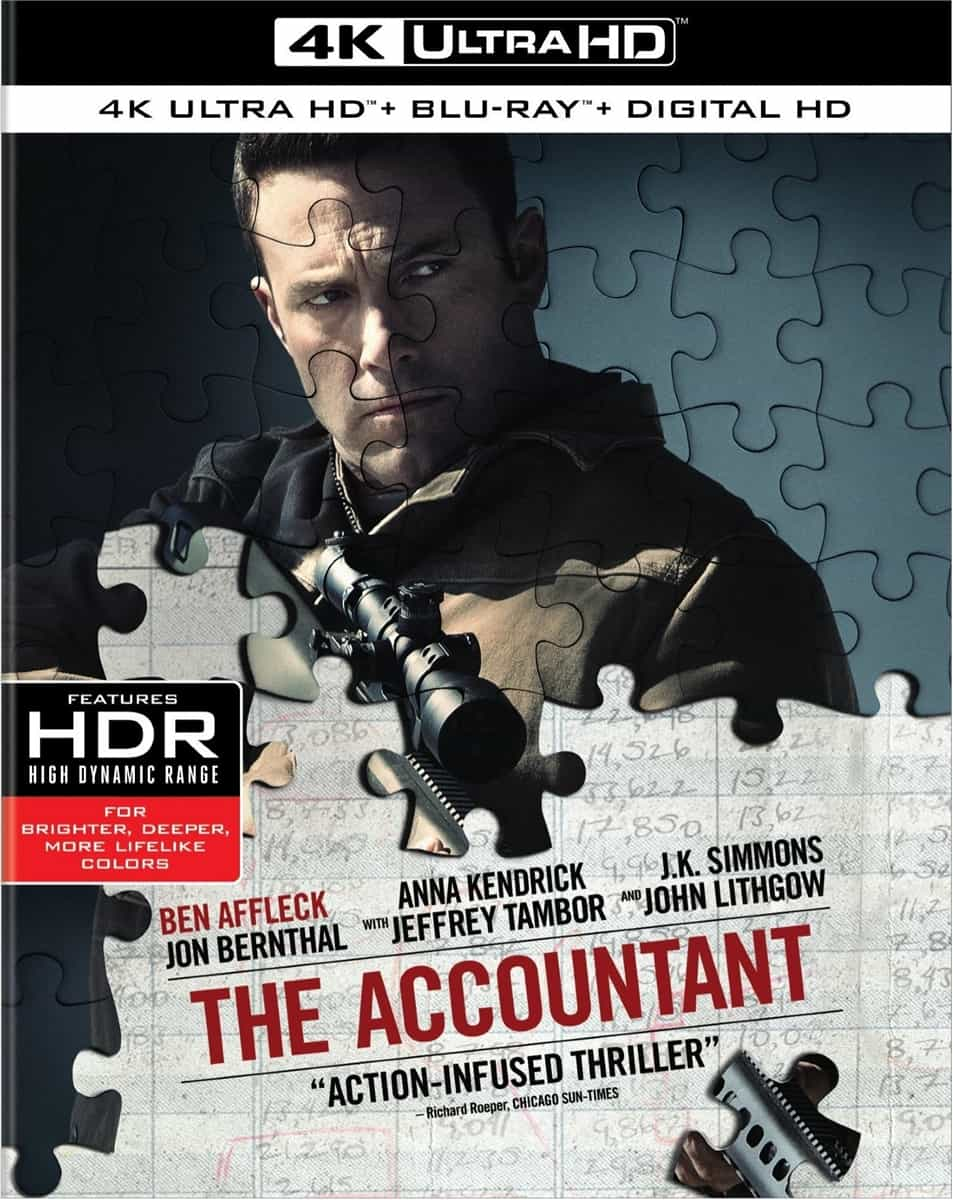 The Accountant 4K 2016 Ultra HD 2160p