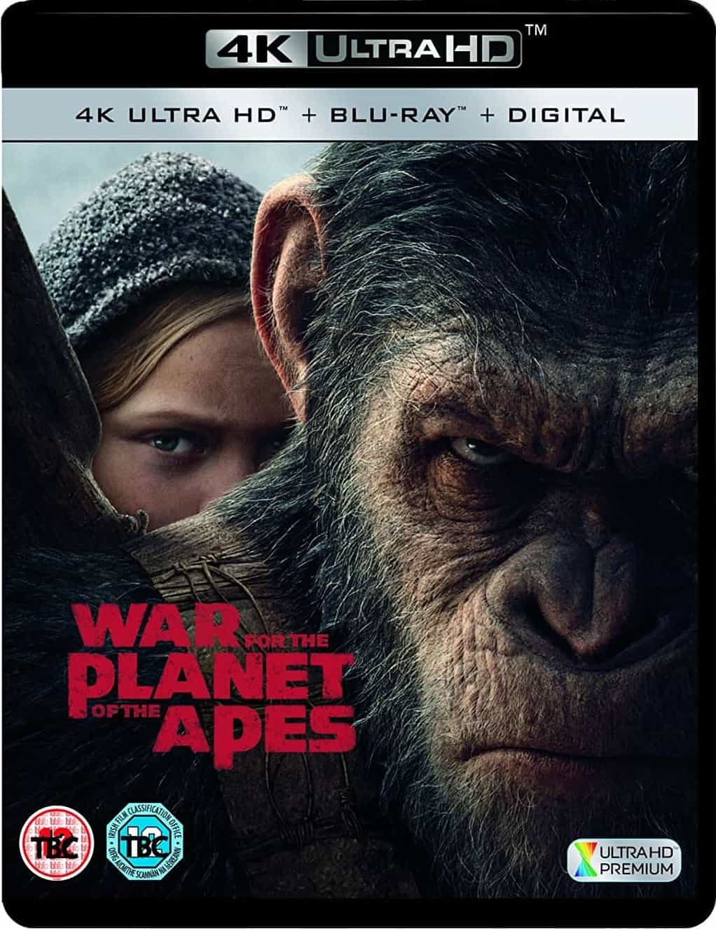 War for the Planet of the Apes 4K 2017 Ultra HD 2160p