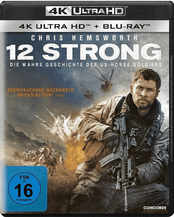 12 Strong 4K 2018 Ultra HD 2160p