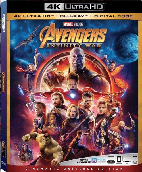 Avengers: Infinity War 4K 2018 Ultra HD 2160p » 4K Movies, Download