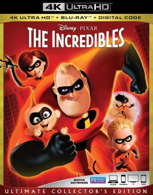 The Incredibles 4K 2004 Ultra HD 2160p