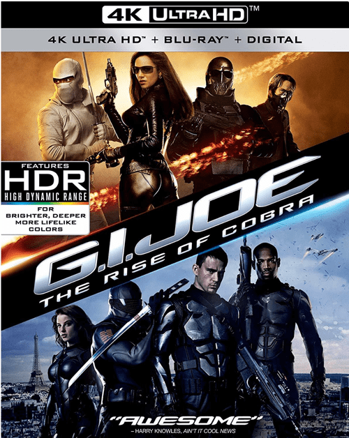 G.I. Joe: The Rise of Cobra 4K 2009 Ultra HD 2160p
