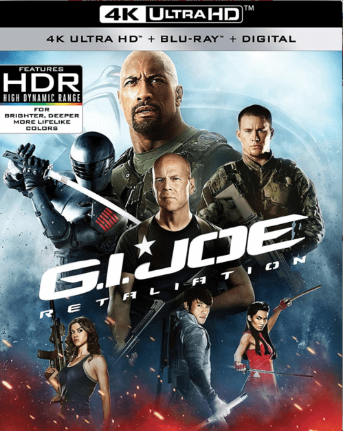 G.I. Joe: Retaliation 4K 2013 Ultra HD 2160p