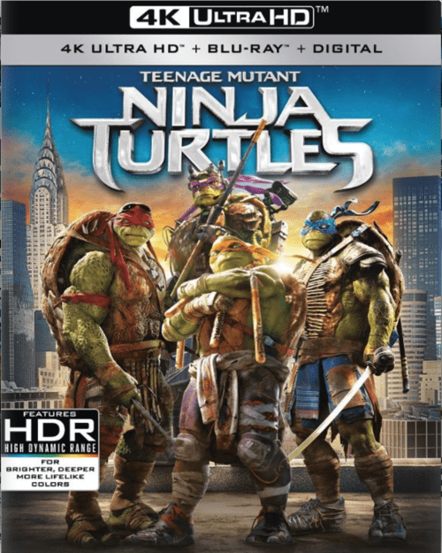 Teenage Mutant Ninja Turtles 4K 2014 Ultra HD