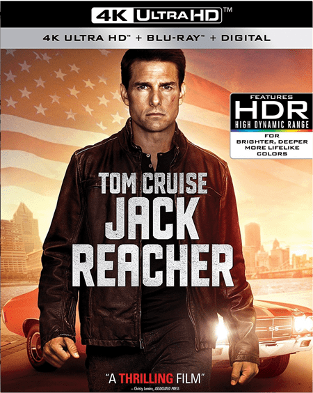 Jack Reacher 4K 2012 Ultra HD 2160p