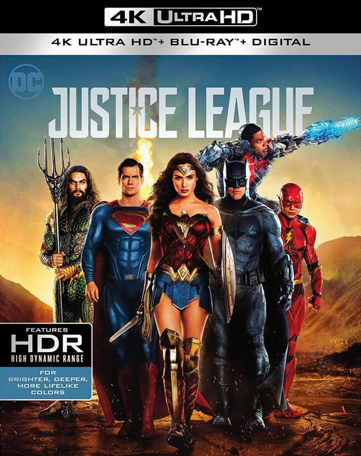 Justice League 4K 2017 Ultra HD 2160p