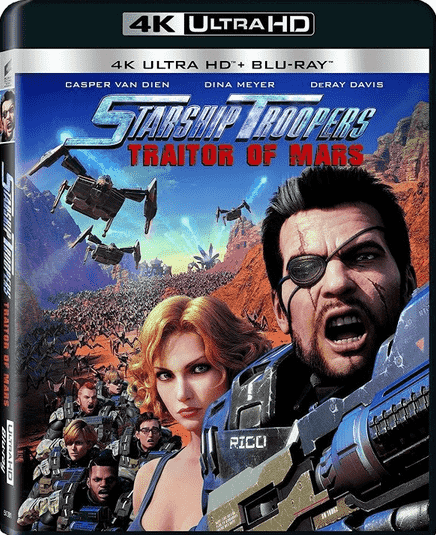 Starship Troopers: Traitor of Mars 4K 2017 Ultra HD 2160p