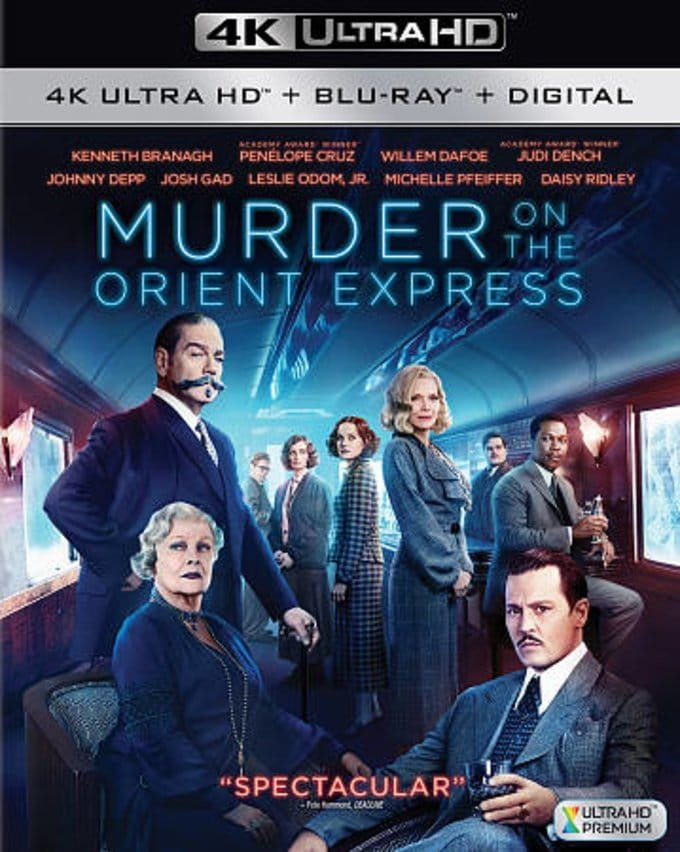 Murder on the Orient Express 4K 2017 Ultra HD 2160p