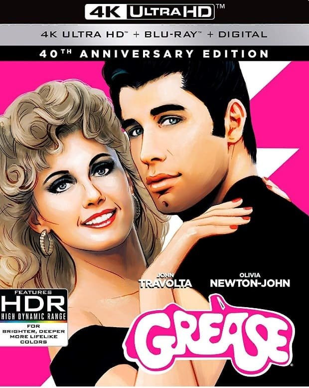 Grease 4K 1978 Ultra HD 2160p