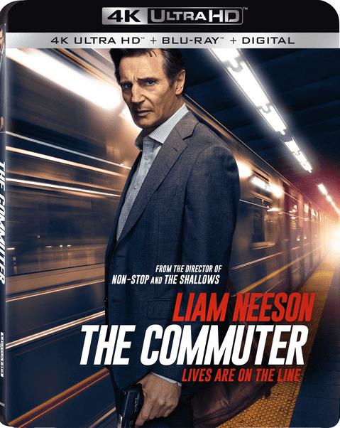 The Commuter 4K Blu-ray 2018 Ultra HD 2160p