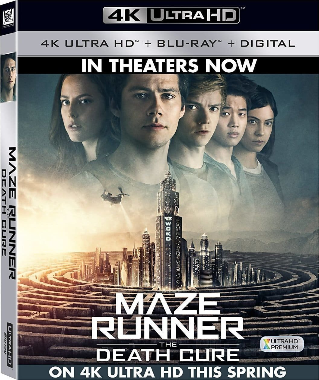 Maze Runner The Death Cure 4K 2018 Ultra HD 2160p