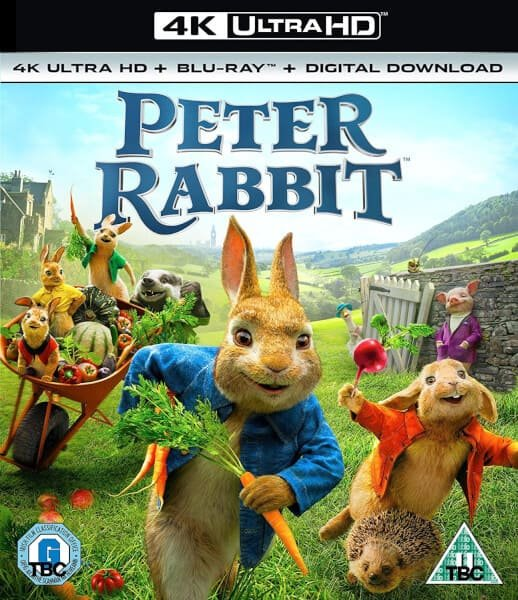 Peter Rabbit 4K 2018 Ultra HD 2160p
