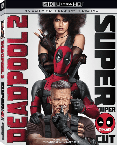 Deadpool 2 4K 2018 Ultra HD 2160p