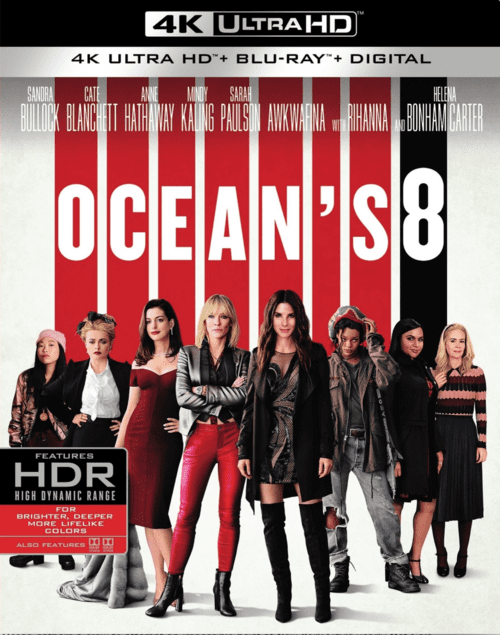 8 Ocean's Eight 4K 2018 Ultra HD 2160p