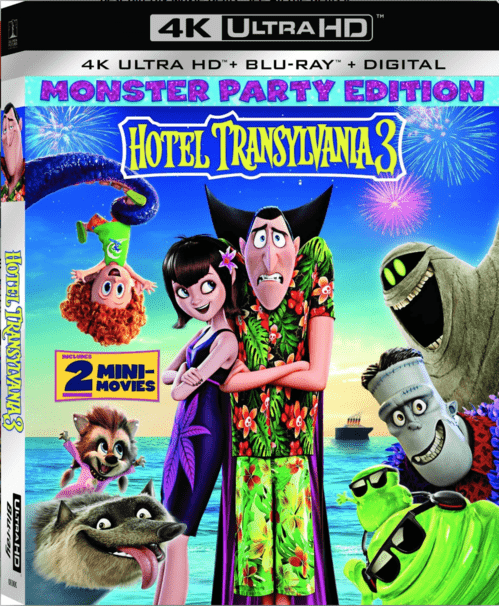 Hotel Transylvania 3: Summer Vacation 4K 2018 Ultra HD 2160p