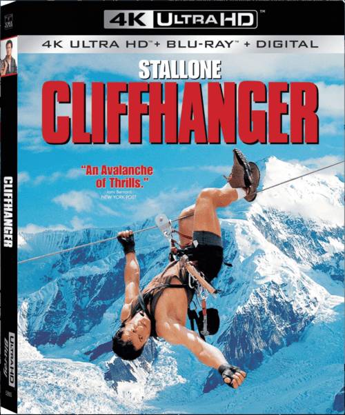 Cliffhanger 4K 1993 Ultra HD 2160p